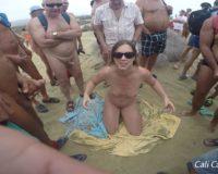 dogging på stranden